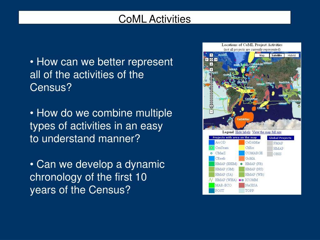 CoML Activities