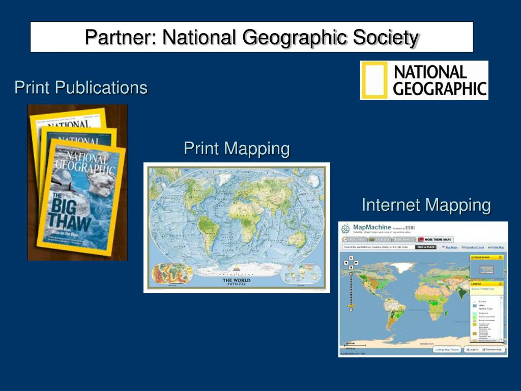 Partner: National Geographic Society