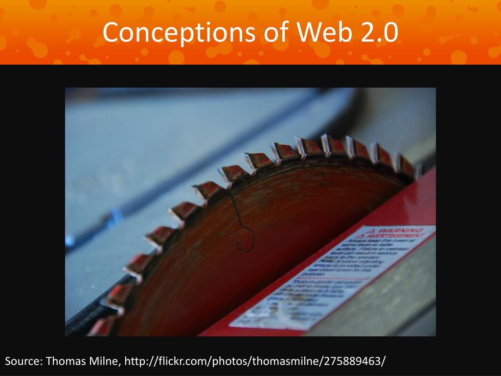 Conceptions of Web 2.0