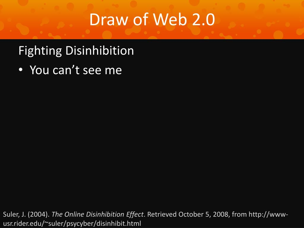 Draw of Web 2.0