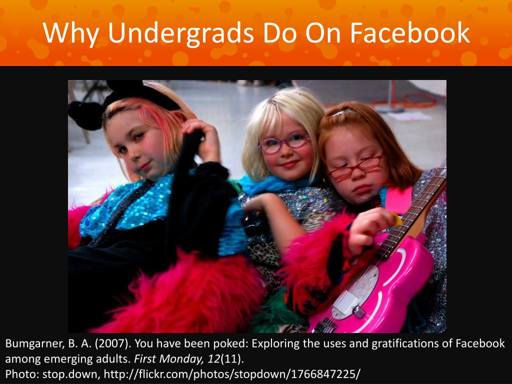 Why Undergrads Do On Facebook