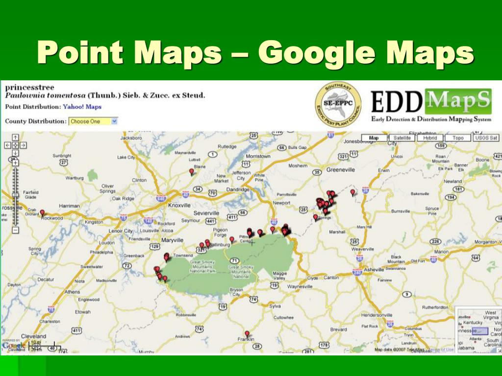 Point Maps – Google Maps