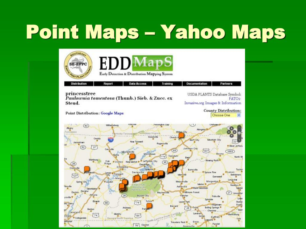 Point Maps – Yahoo Maps