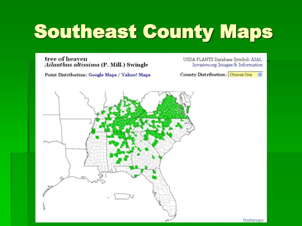 Southeast County Maps