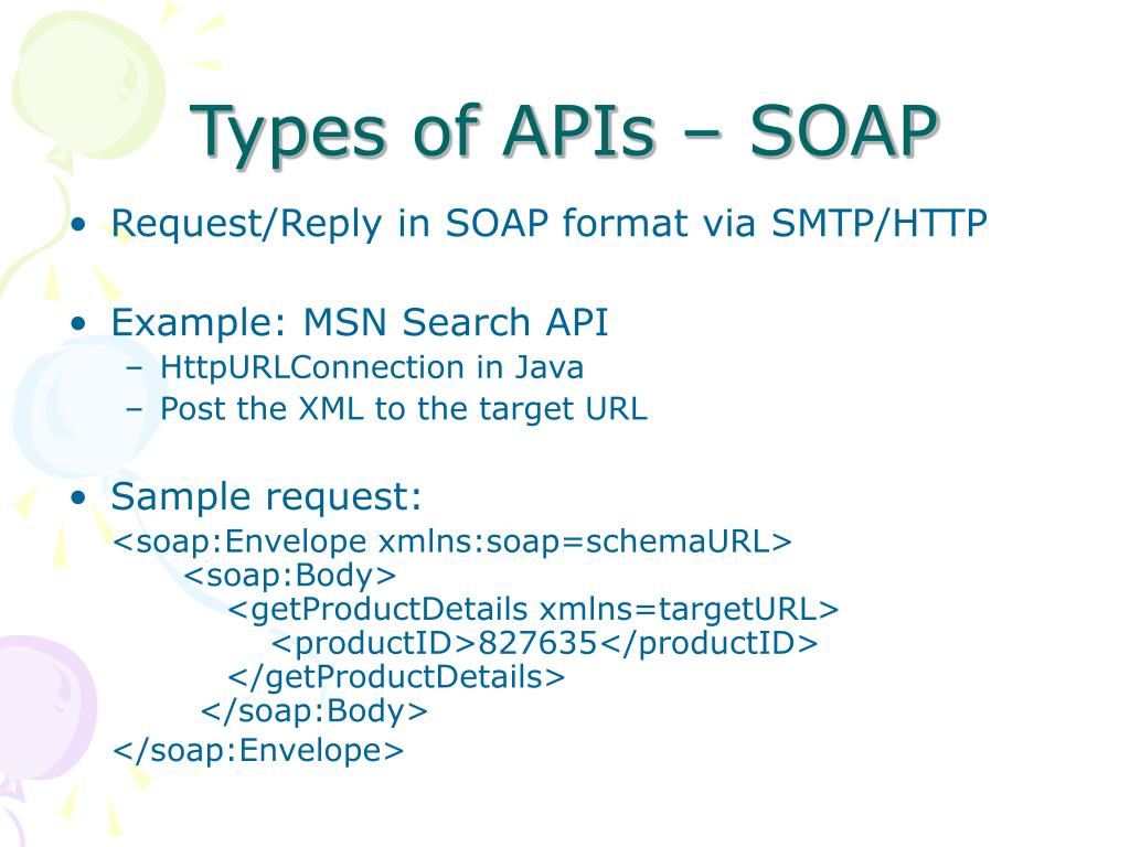 Types of APIs – SOAP