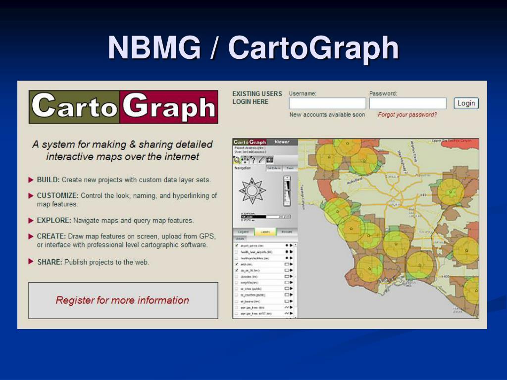 NBMG / CartoGraph
