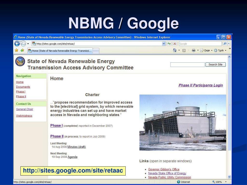 NBMG / Google