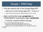 google wms map