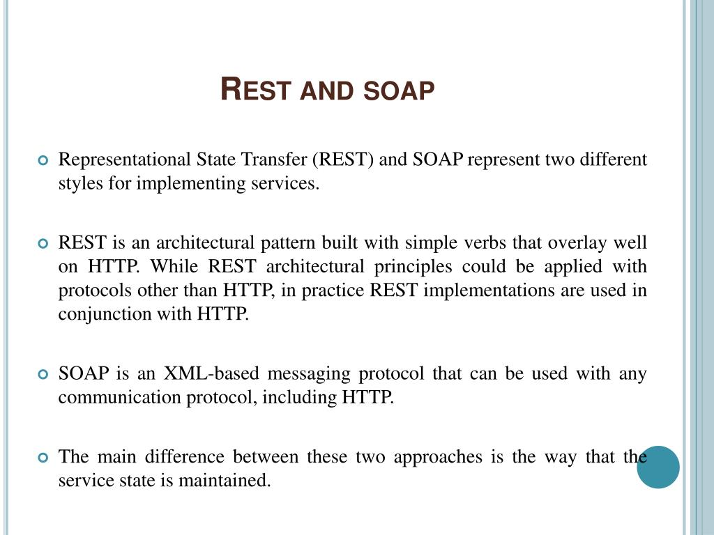 Rest and soap