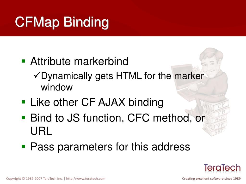 CFMap Binding