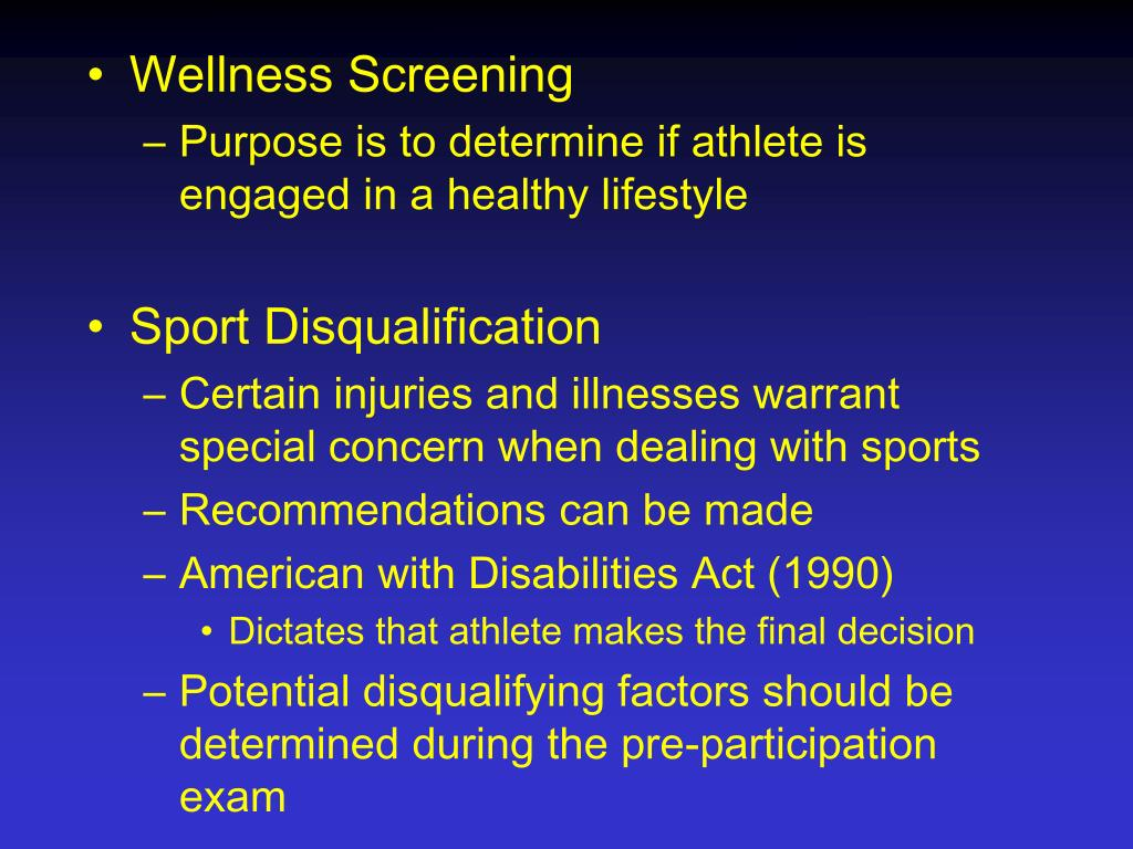 Wellness Screening