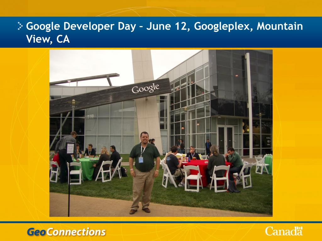 Google Developer Day – June 12, Googleplex, Mountain View, CA