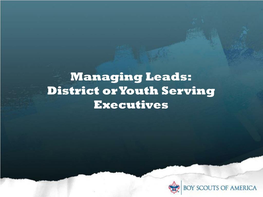 Managing Leads: