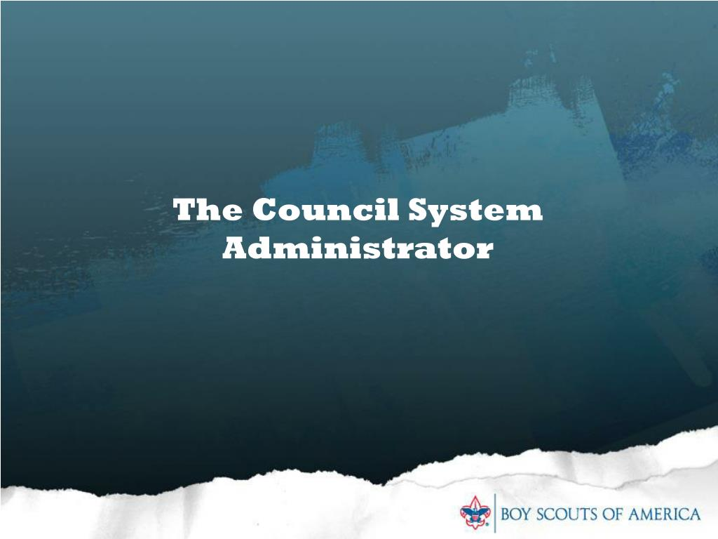 The Council System Administrator