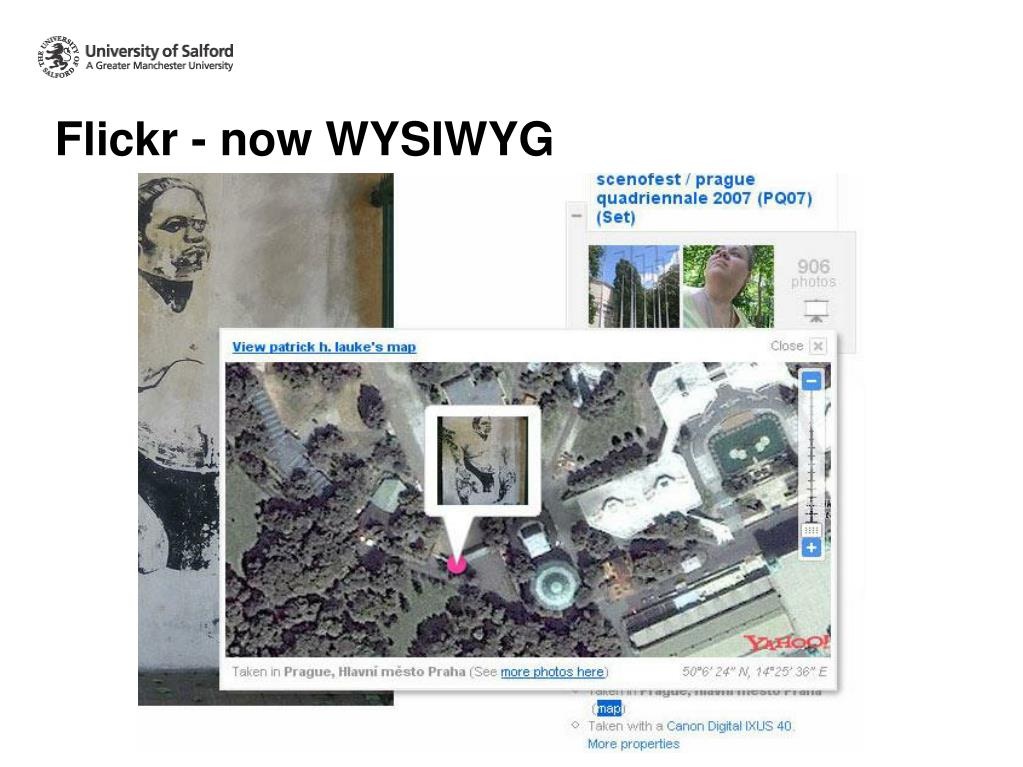 Flickr - now WYSIWYG