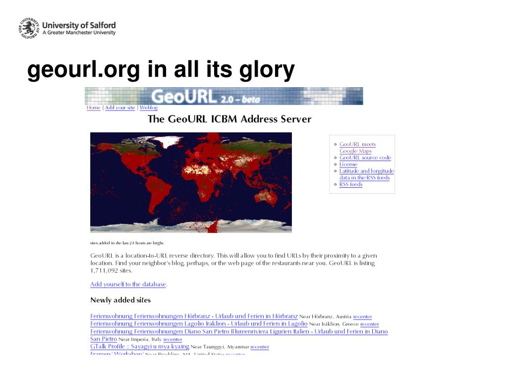 geourl.org in all its glory