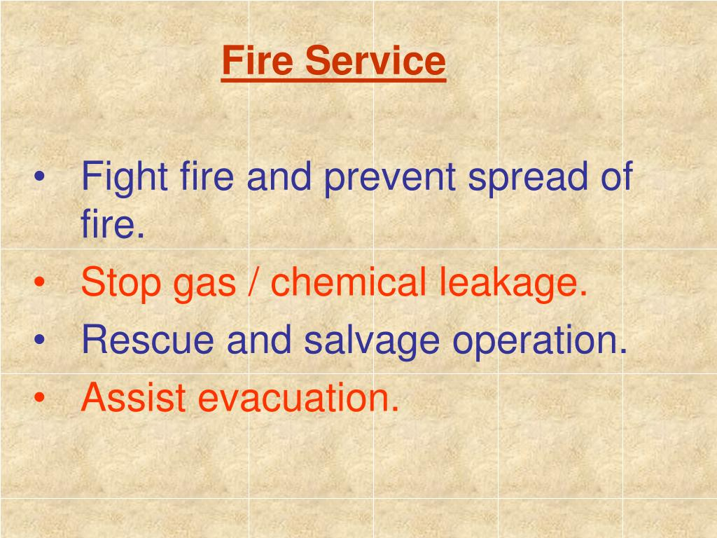 Fire Service