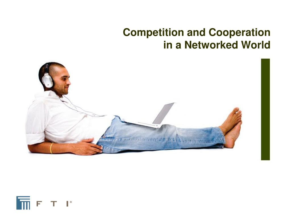Competition and Cooperation in a Networked World