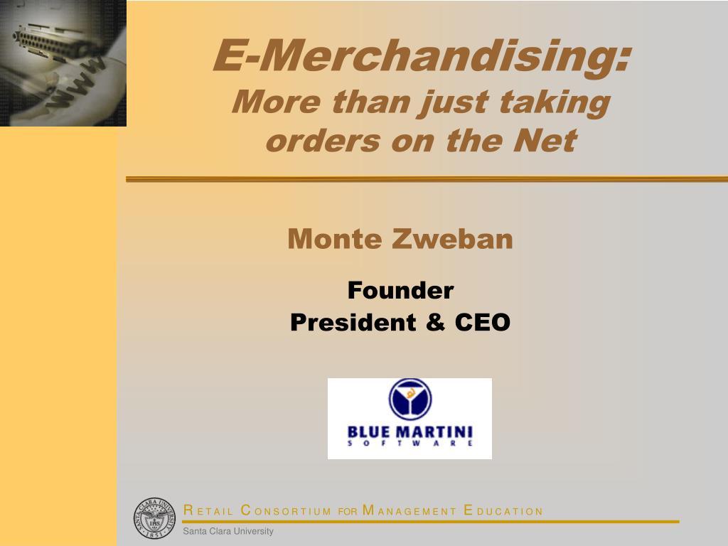 E-Merchandising: