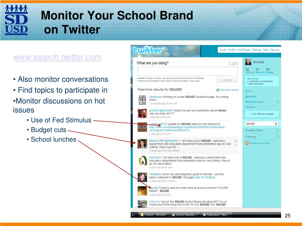 Monitor Your School Brand