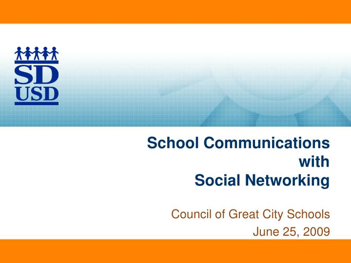 School communications with social networking l.jpg
