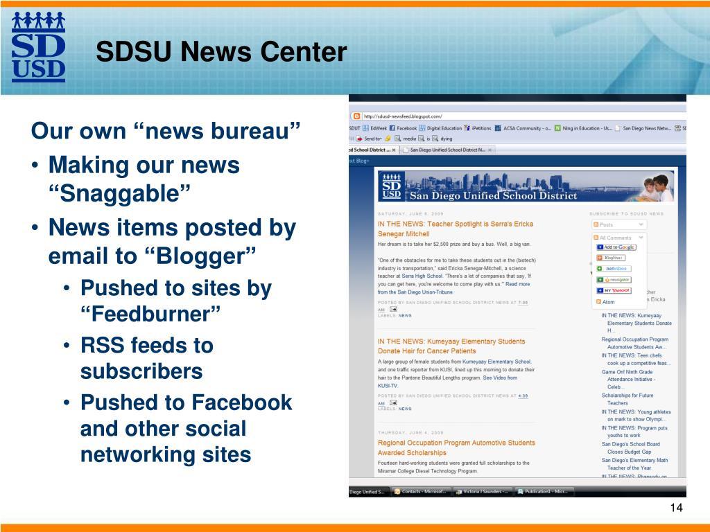 SDSU News Center