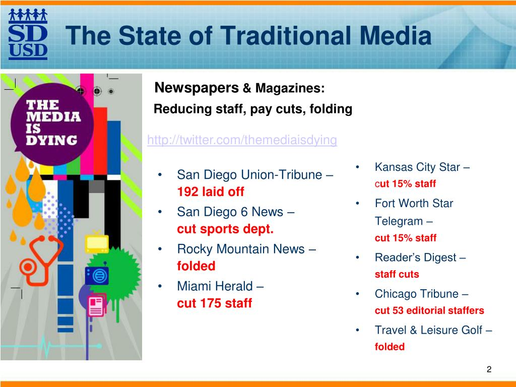 The State of Traditional Media