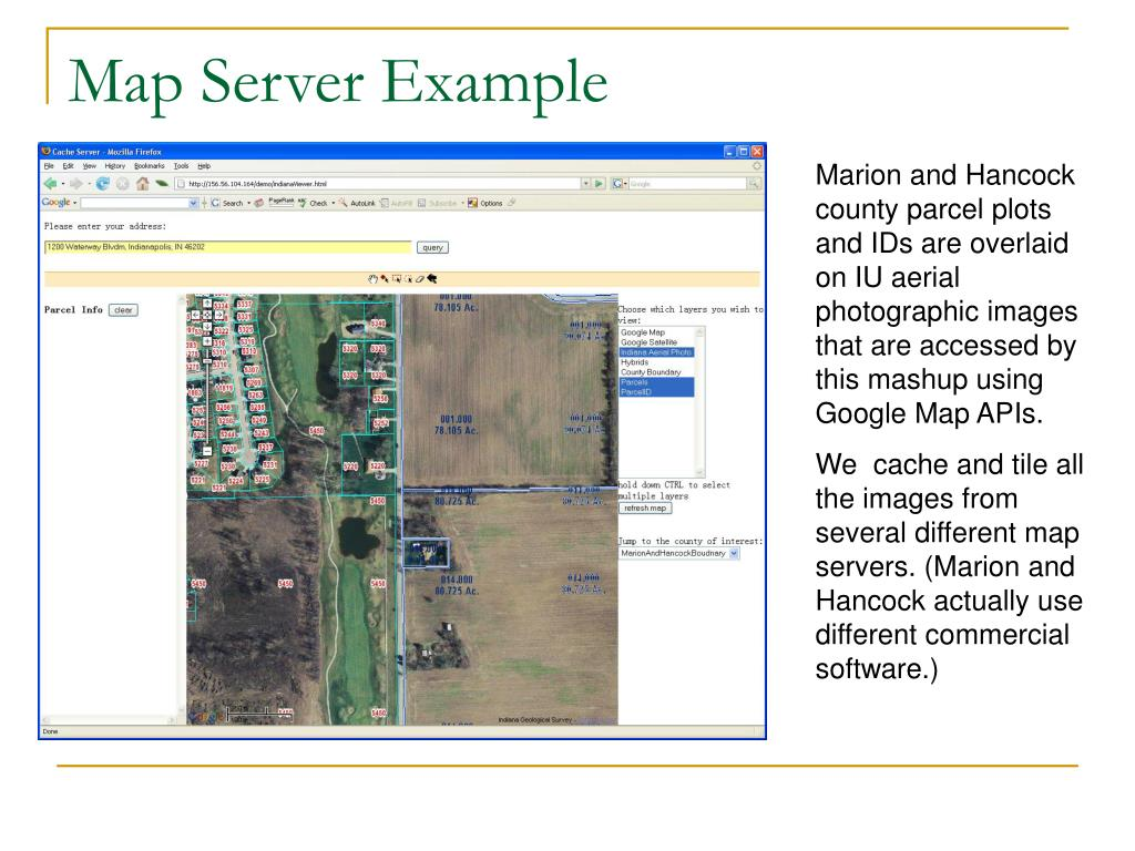 Map Server Example