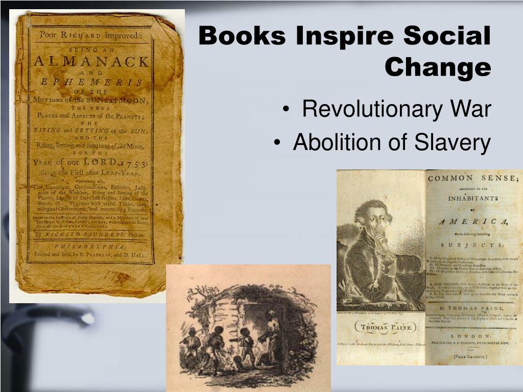 Books Inspire Social Change