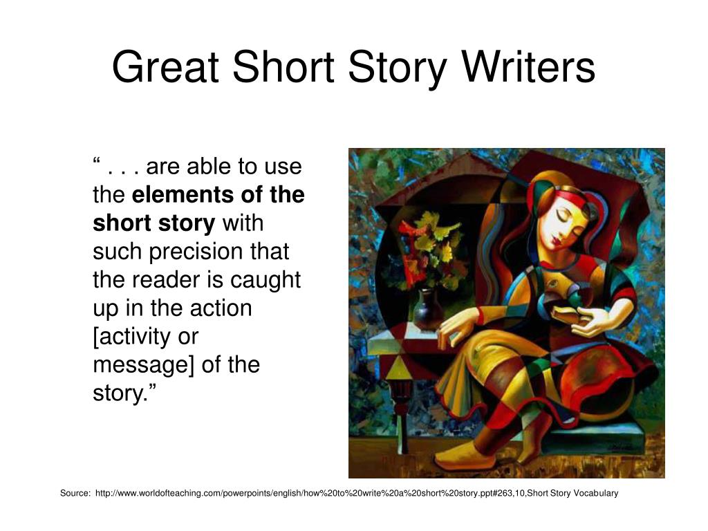 Great Short Story Writers