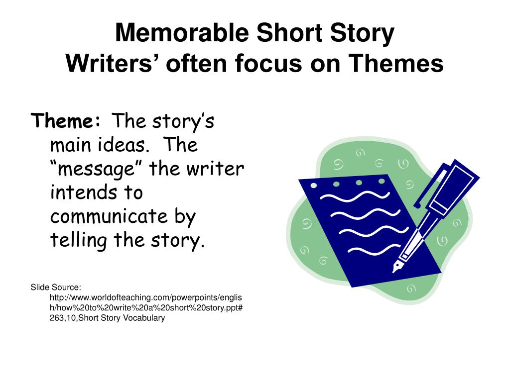 Memorable Short Story