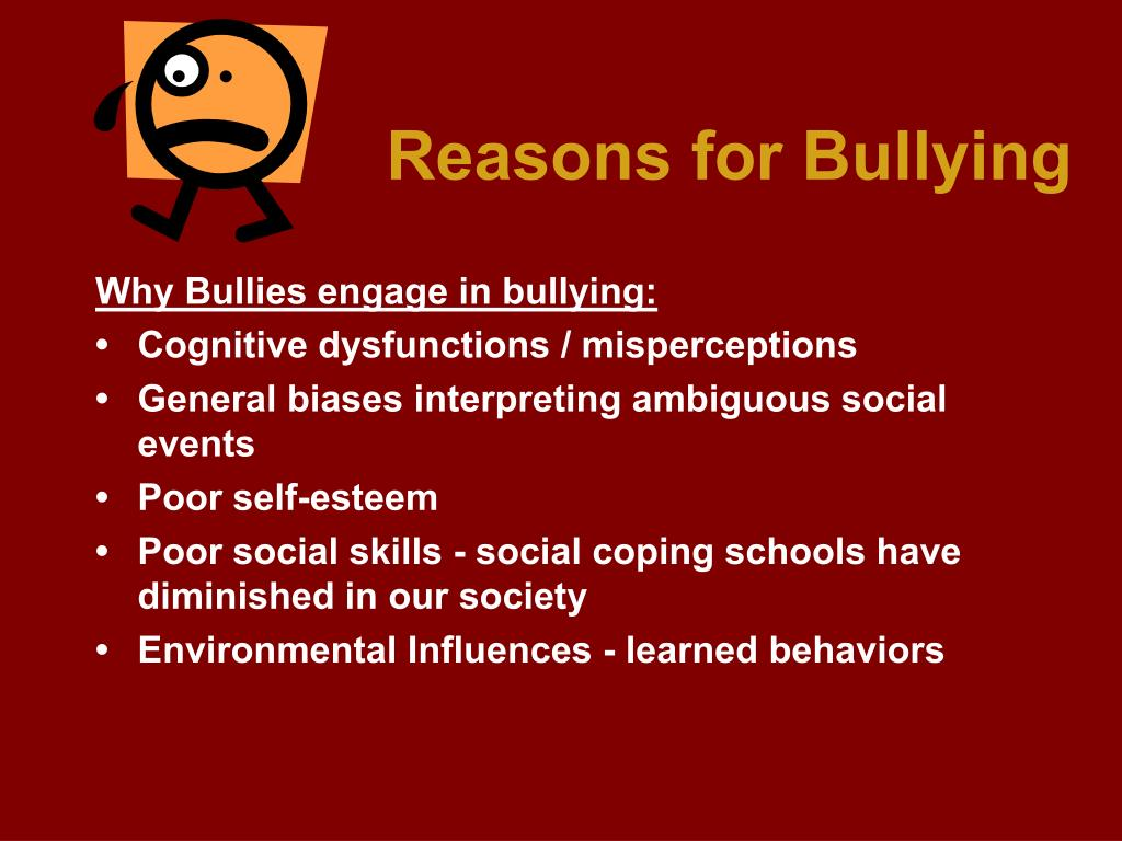 Reasons for Bullying