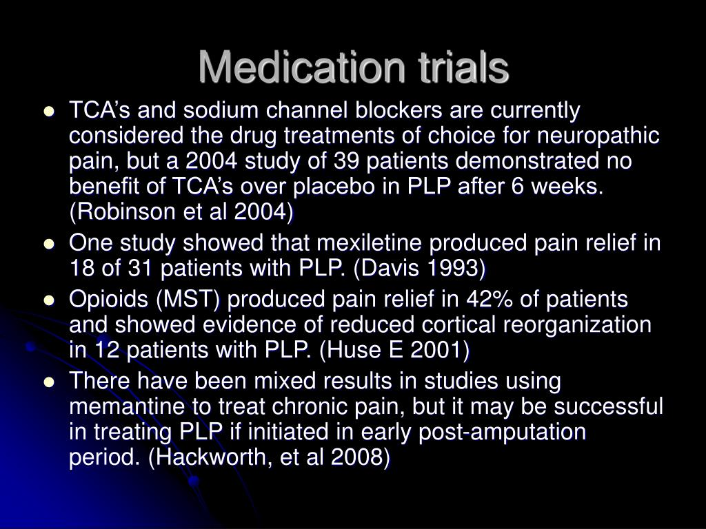 Medication trials