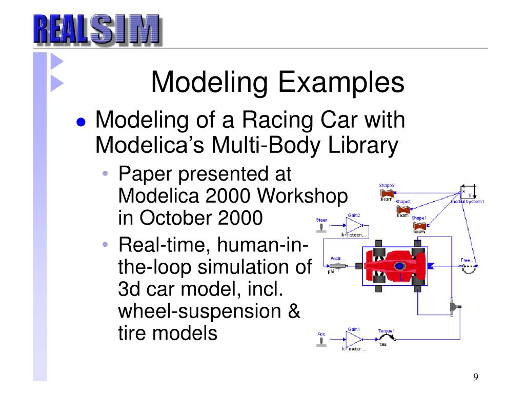Modeling Examples