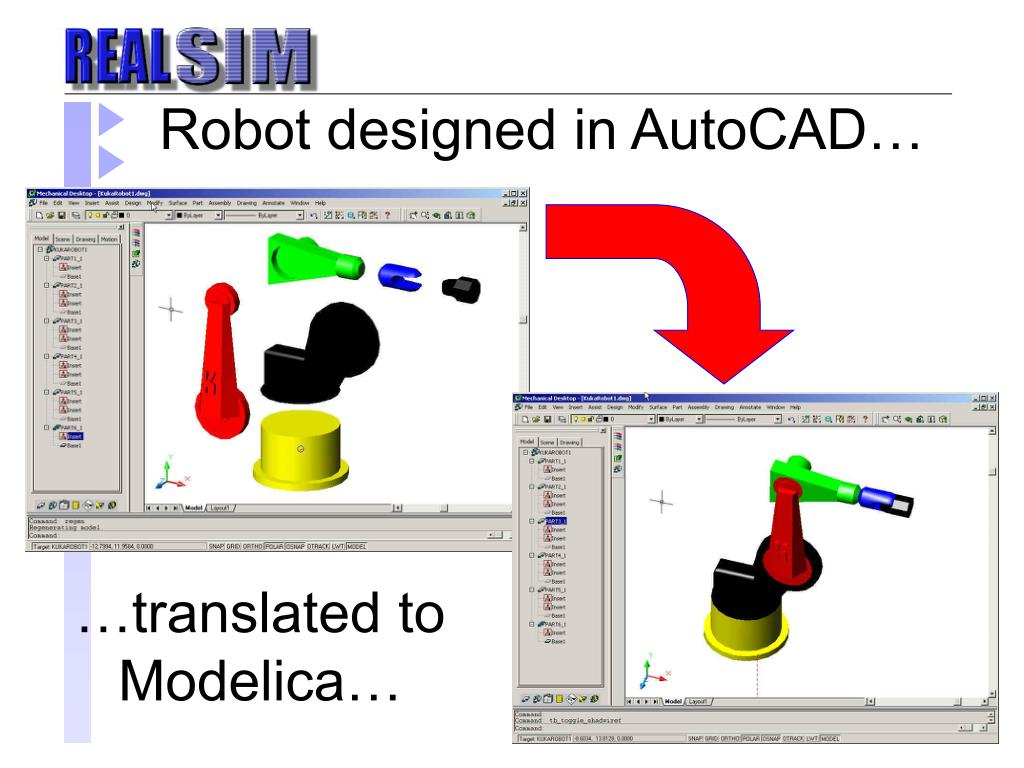 Robot designed in AutoCAD…