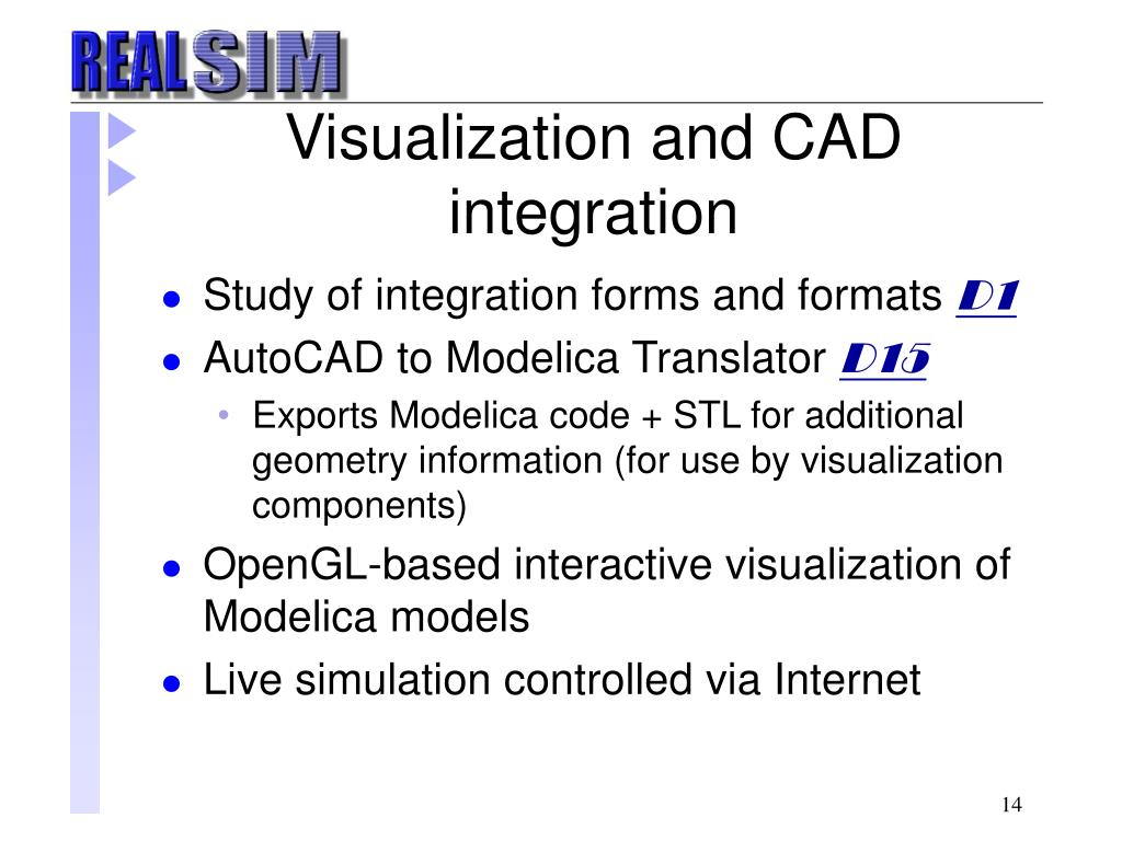 Visualization and CAD integration