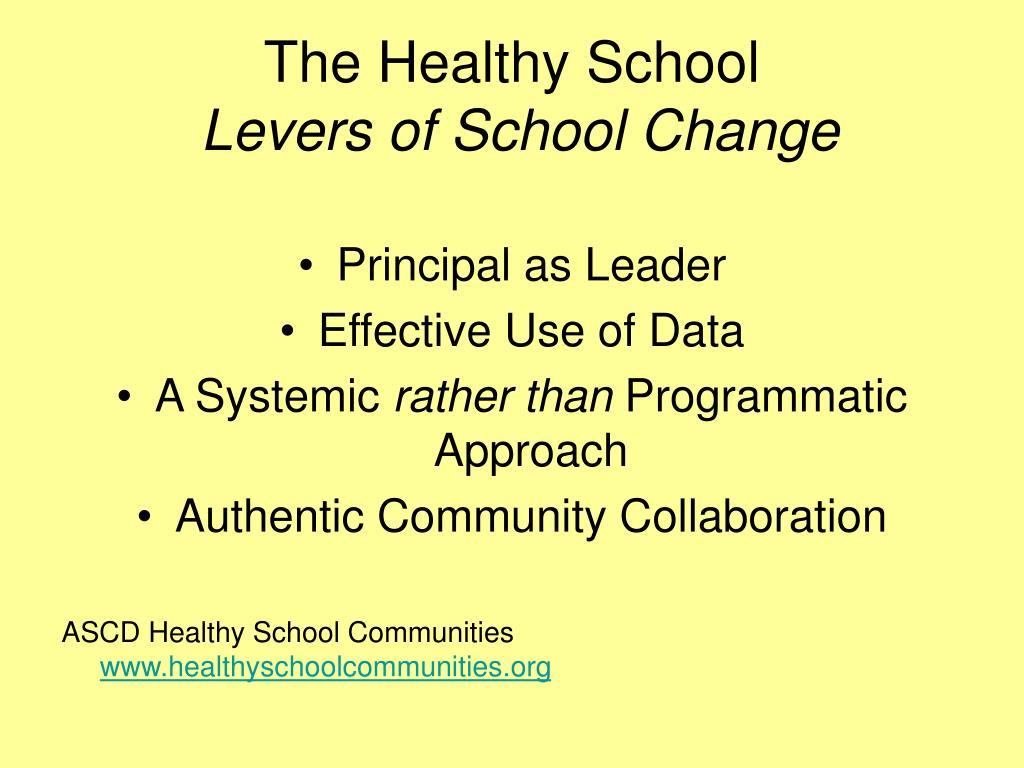 The Healthy School