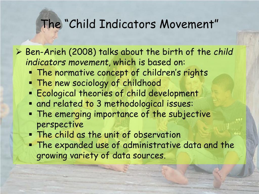 "The ""Child Indicators Movement"""