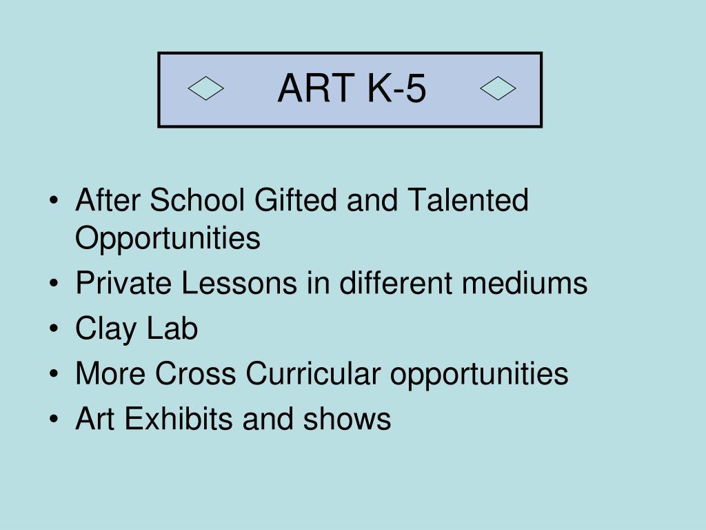 ART K-5