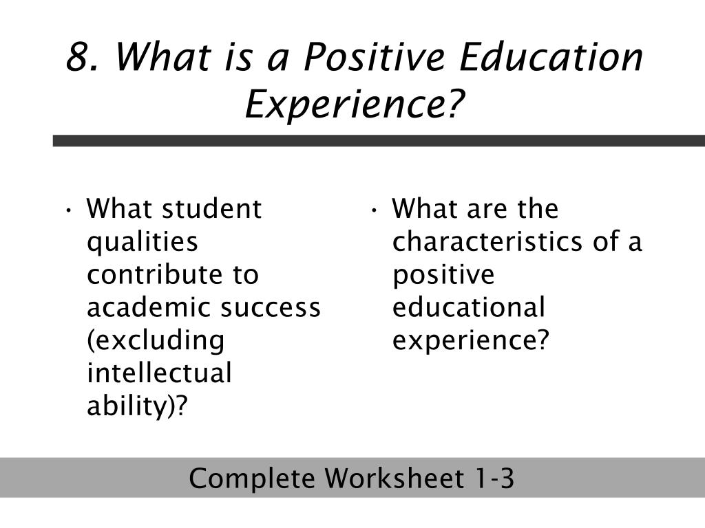 What student qualities contribute to academic success (excluding intellectual ability)?