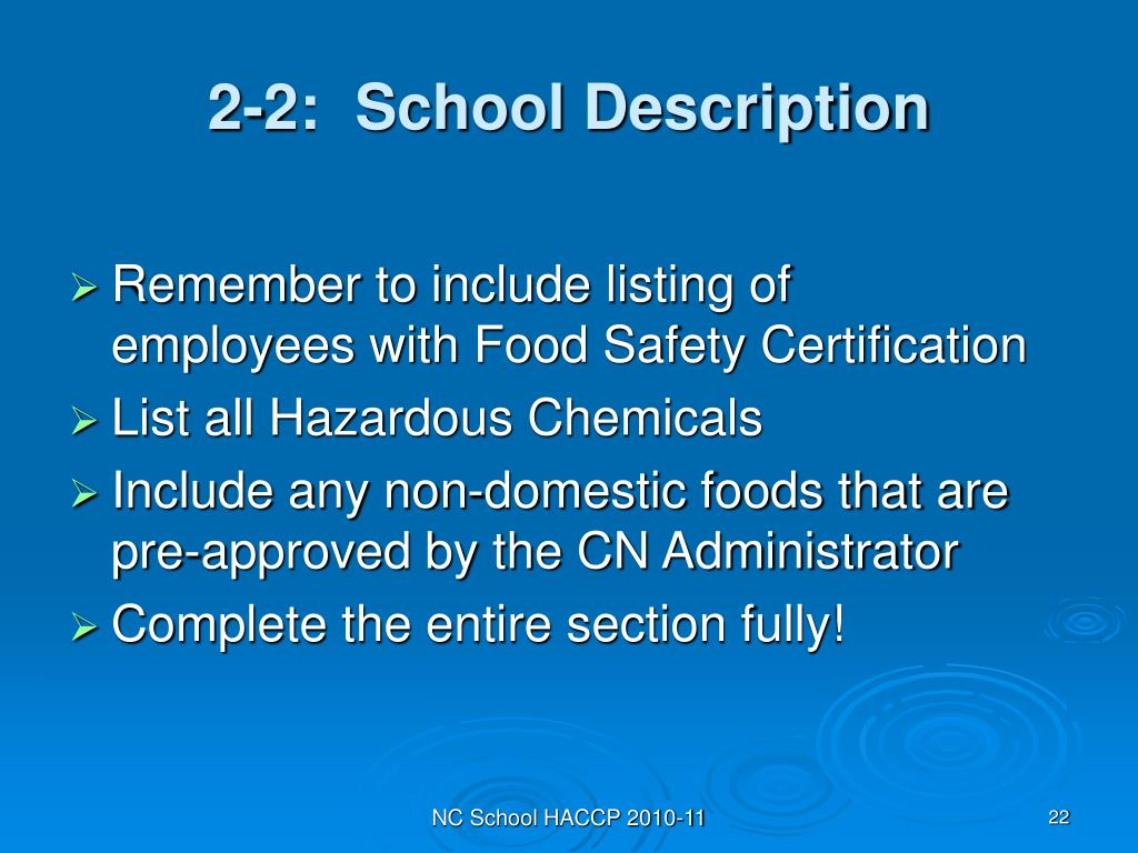 2-2:  School Description
