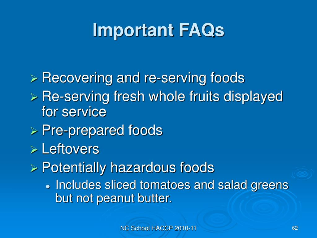 Important FAQs