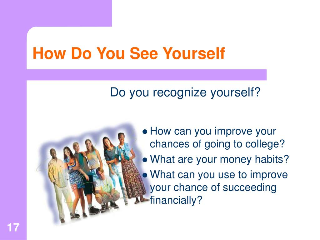 How Do You See Yourself