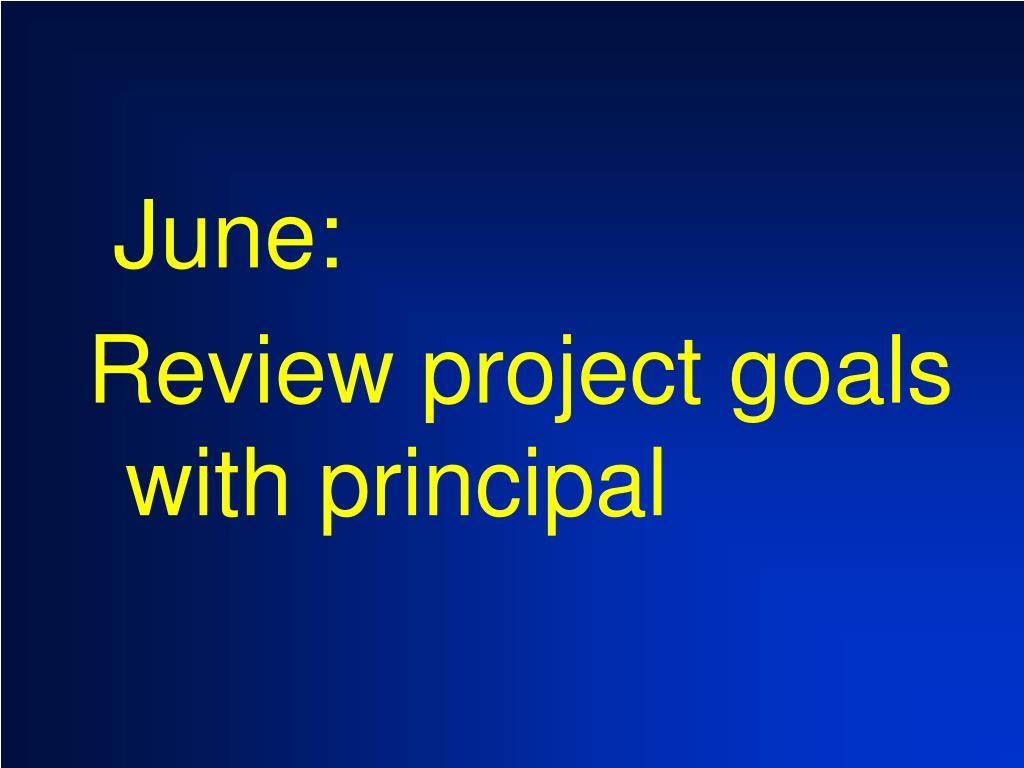 June: