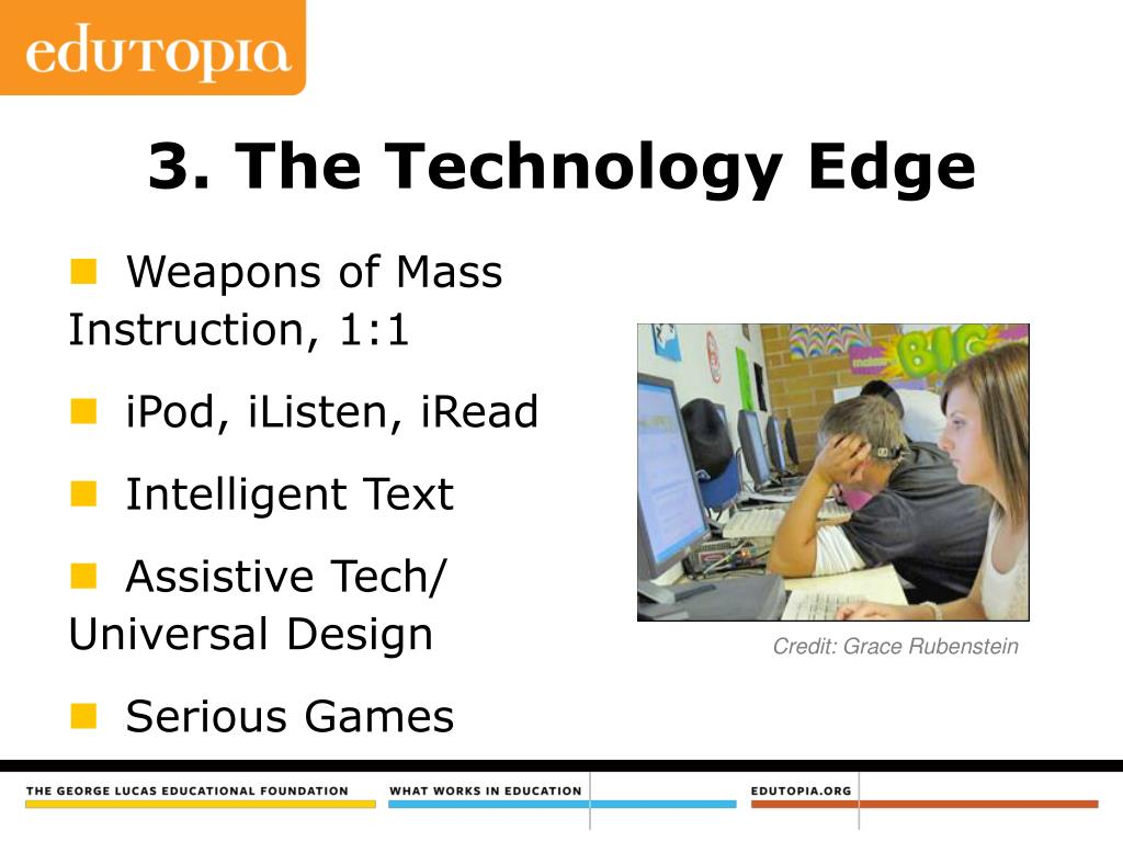 3. The Technology Edge