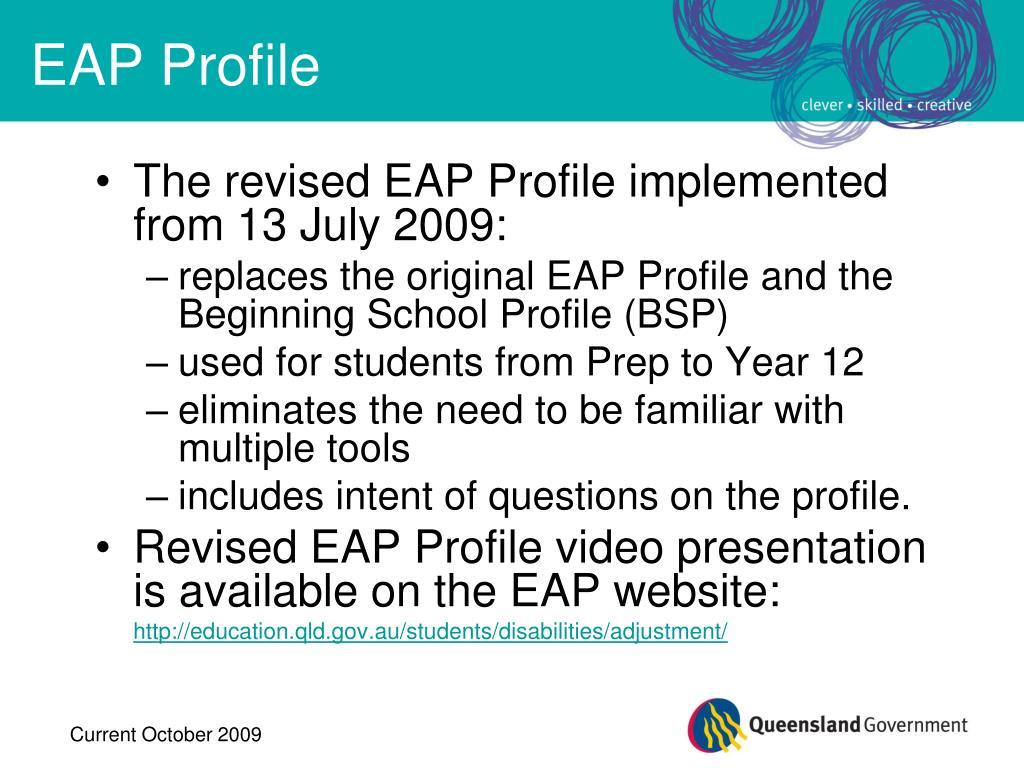 EAP Profile