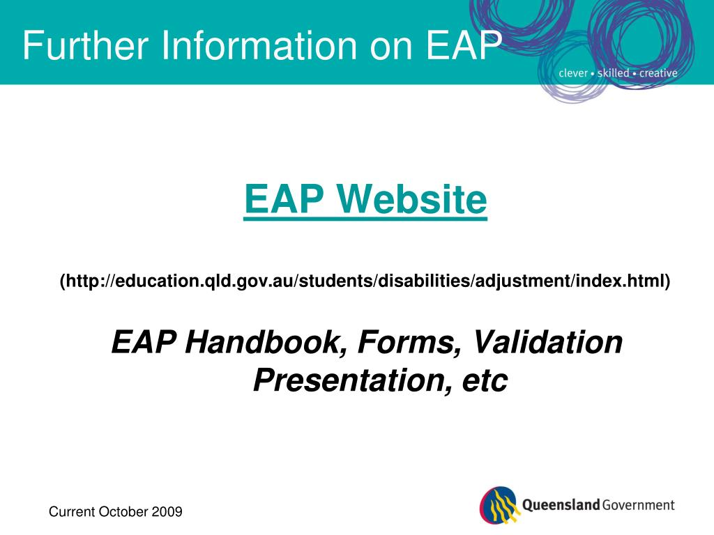 Further Information on EAP