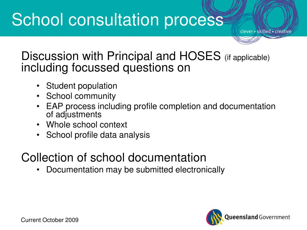 Discussion with Principal and HOSES