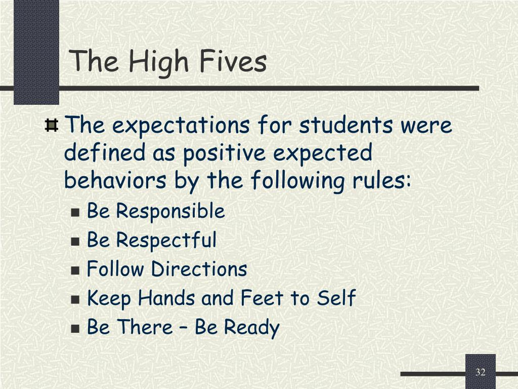 The High Fives