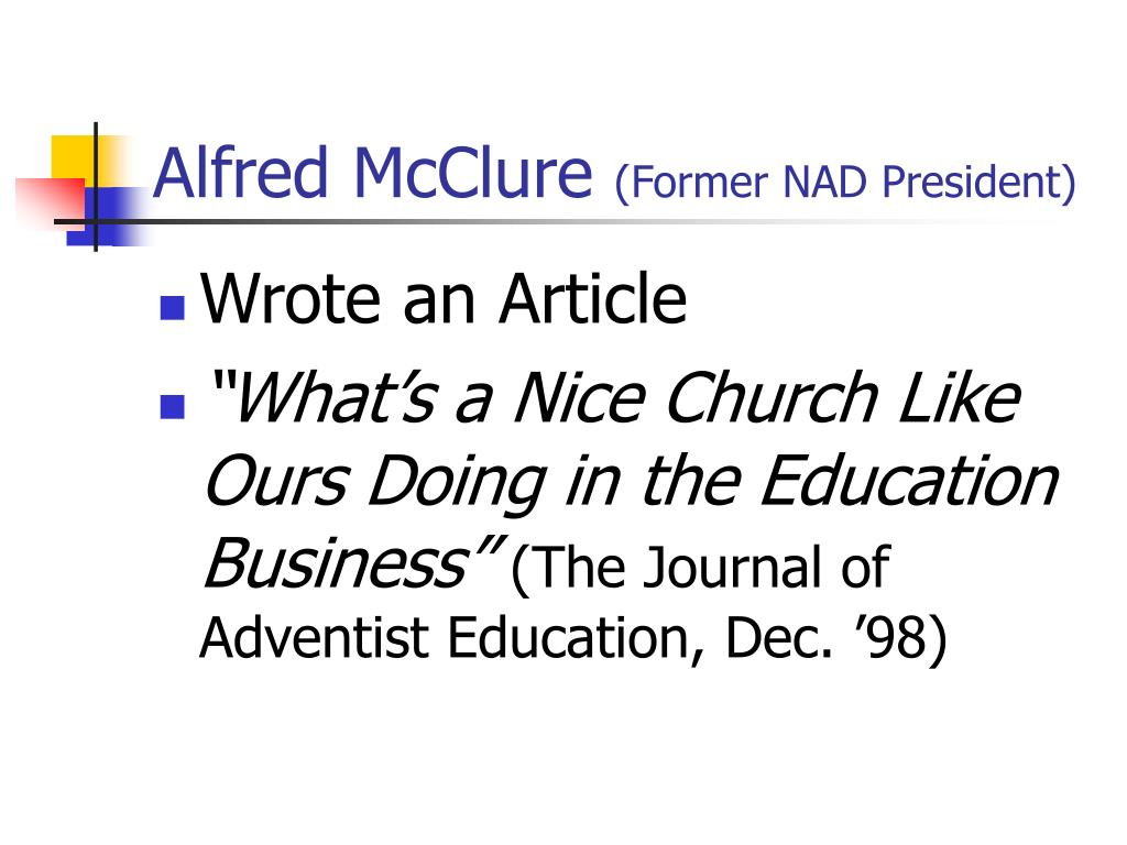 Alfred McClure